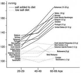 Liên quan giữa muối ăn và huyết áp (P.2)
